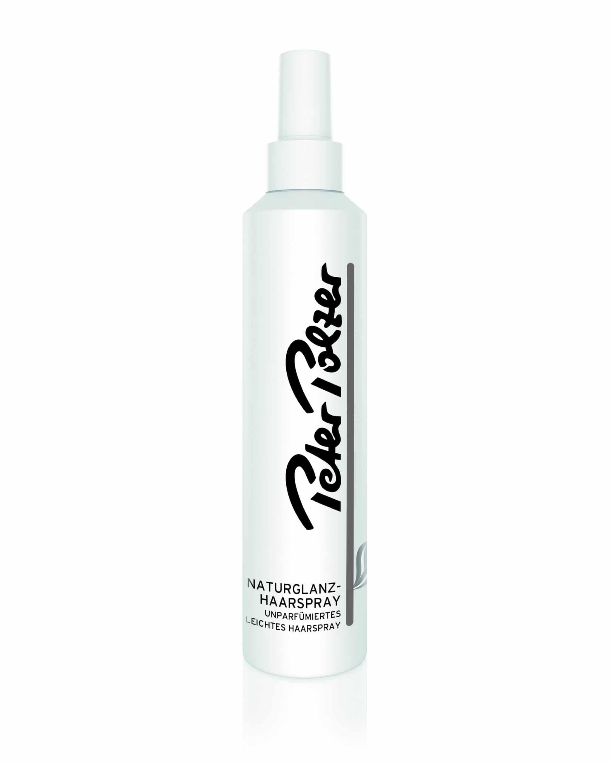 unparfümiertes Haarspray für Halt und Glanz
